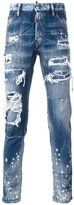 DSQUARED2 Cool Guy distressed spot jeans - men - Cotton/Spandex/Elastane - 42