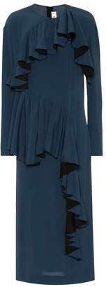 Marni Silk-blend crepe dress