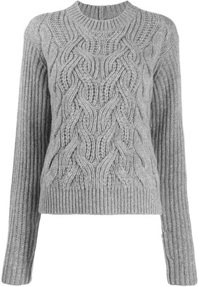 Helmut Lang Cable Knit Jumper