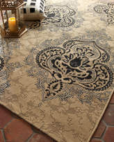 "Safavieh Outdoor Damask Rug, 6'7"" x 9'6"""