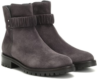 Jimmy Choo Holst Flat suede ankle boots