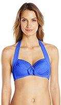Seafolly Women's Goddess Soft Cup Halter Bikini Top