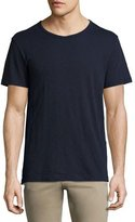 Vince Slub Short-Sleeve Crewneck T-Shirt, Navy