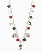 Charming charlie Western Flair Long Christmas Necklace