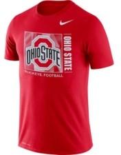 Nike Ohio State Buckeyes Men's Dri-fit Cotton Team Issue T-Shirt