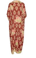 Simone Rocha Floral Silk Midi Dress