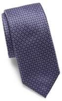 Canali Mini Square Silk Tie