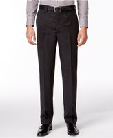 DKNY Black Pindot Pants Slim Fit
