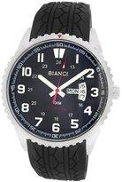 Roberto Bianci Men's 7099mrub-ss_blk Pro Racing Analog Display Analog Quartz Black Watch