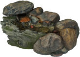 TRADEMARK HOME Navarro Cascading Stone Outdoor Fountain
