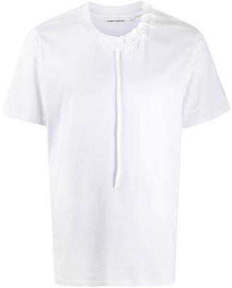 Craig Green lace-up collar T-shirt