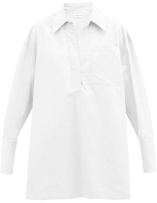 Co Patch-pocket Cotton Shirt - White
