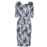 Laurèl Leaf Print Dress