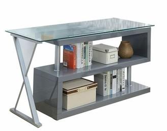 Orren Ellis Paskal Glass Desk