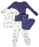 Rosie Pope® 4-Piece Star Pajama Set in Blue