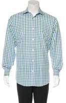 Hermes Gingham Dress Shirt