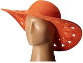 San Diego Hat Company UBL6481 Ultrabraid Sun Brim Hat with Open Weave Circular Details