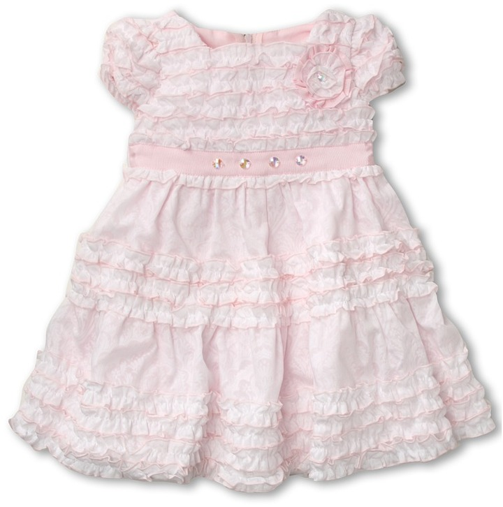 Biscotti Birthday Girl Dress (Infant) (White) - Apparel