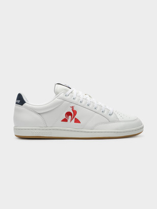 Le Coq Sportif Mens Court Sneakers in White