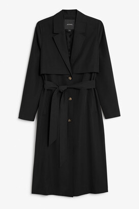 Monki Soft trench coat