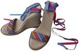 Marc Jacobs Multicolour Cloth Espadrilles