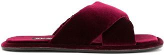 Senso Inka velvet sandals