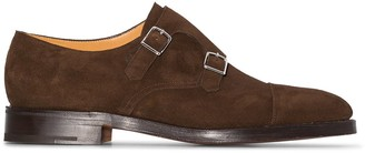 John Lobb William buckle-strap monk shoes