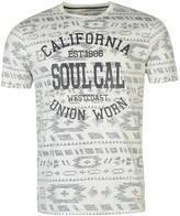 Soulcal Deluxe Reverse Aztec T Shirt