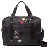 Madden-Girl Nylon Patch Weekend Bag