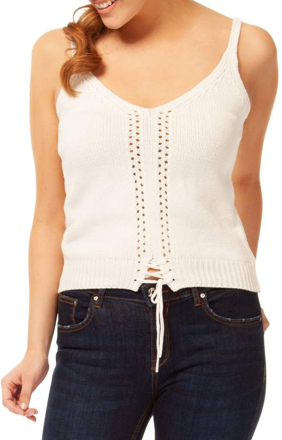 Dex Knitted Cotton Blend Camisole