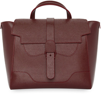 Senreve Maestra Mimosa Leather Satchel Bag