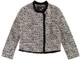 Ikks Black and White Jacquard Jacket
