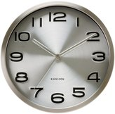 Karlsson Present Time Wall Clock Maxie, Steel