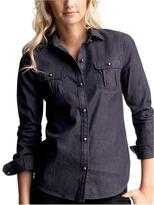 Dark denim shirt