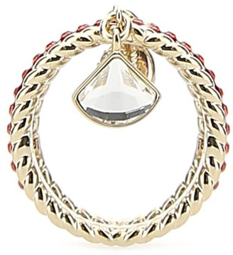 Swarovski Shell Ring Set