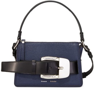 Proenza Schouler Small Buckle Leather Box Bag