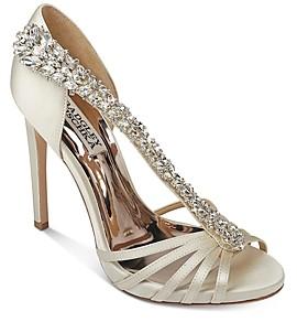 Badgley Mischka Women's Emma Crystal Embellished High-Heel Sandals