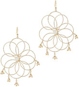 Rosantica Cosmo Wire Pearl Earrings