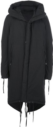 Army Of Me Oversized Hooded Coat