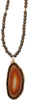 Heather Gardner - Agate Wood Bead Necklace