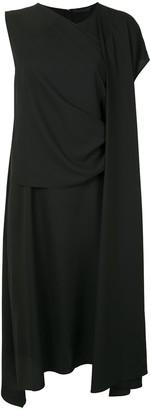 Juun.J Asymmetric Sleeve Dress
