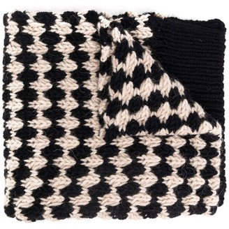 Raf Simons Long-Length Knitted Scarf