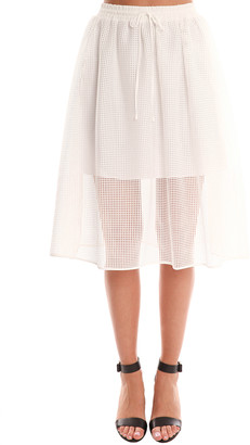 Clover Canyon Square Mesh Skirt