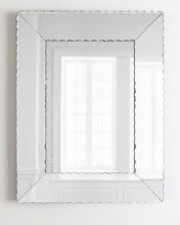 Neiman Marcus Scallops Large Mirror