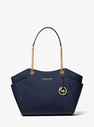 Michael Kors Jet Set Large Saffiano Leather Shoulder Bag