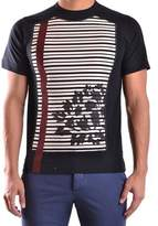 Antonio Marras Men's Black Cotton T-shirt.
