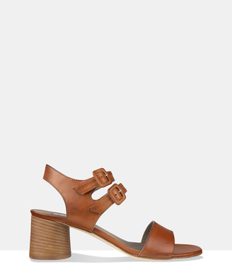Habbot. Women's Brown Flat Sandals - Rye Heeled Sandals - Size One Size, 41 at The Iconic