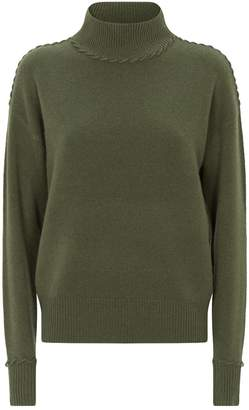 Theory Cashmere Rollneck Sweater