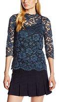 Benetton Women's Lace Long Sleeve Shirt