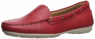 Driver Club Usa Women's Genuine Leather Made in Brazil Cape Cod Loafer Shoe